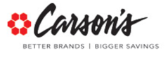 Carson's Coupons & Promo Codes